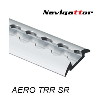 AERO Track Rail rounded silver 2m