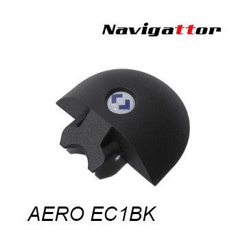 AERO END CAP Black Rail Rounded TRR