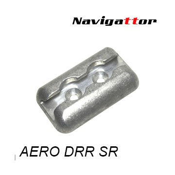 Base Fijación AERO Doble Plata
