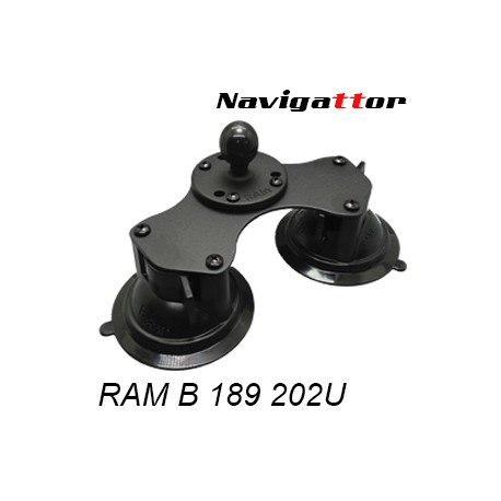 Kit Basic double suction cup B