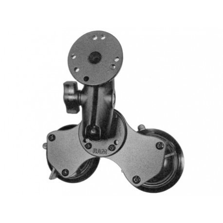 Double suction-cup Kit with standard arm
